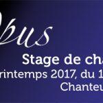 Opus Printemps 2017